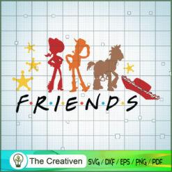 Friends Toy Story SVG, Toy Story SVG, Toy Story Friends SVG, Disney SVG