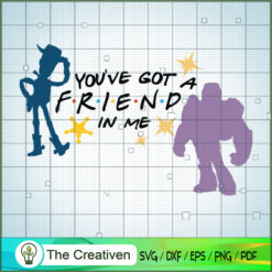Friends Toy Story Buzz Lightyear and Woody Toy SVG, Toy Story SVG, Toy Story Friends SVG, Disney SVG