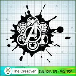 Avengers Logos Small SVG, Avengers SVG, Movie SVG, Super Hero SVG