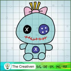 Trapos Lilo Y Stitch SVG, Funny Stitch SVG, Disney Lilo and Stitch SVG