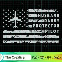 Aircraft Pilot Dad First Love First Hero SVG, Aircraft Pilot Dad First Love First Hero Digital File, Pilot SVG