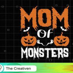 Mom Of Monster SVG, Mom Of Monster Digital File, Mom SVG