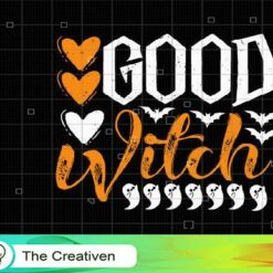 Good Witch SVG, Good Witch Digital File, Halloween SVG
