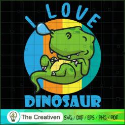 I Love Dinosaur SVG, Dinosaur T-rex SVG, Jurassic Park SVG, Jurassic World SVG