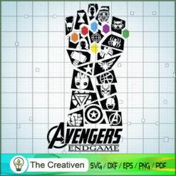 Infinity Gauntlet Avengers Endgame SVG, Avengers SVG, Movie SVG, Super Hero SVG