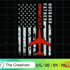 Best Pilot Dad Ever American Flag SVG, Best Pilot Dad Ever American Flag Digital File, Pilot SVG