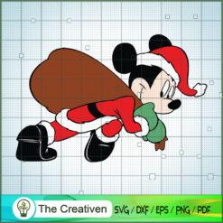 Mickey Santa Claus SVG , Disney Christmas SVG , Disney Mickey SVG, Funny Mickey
