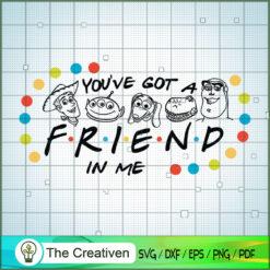You've Got a Friend In Me Aliens Toy SVG, Toy Story SVG, Toy Story Friends SVG, Disney SVG