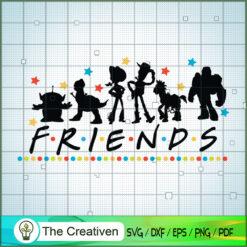 Friends Buzz Lightyear Toy Story SVG, Toy Story SVG, Toy Story Friends SVG, Disney SVG