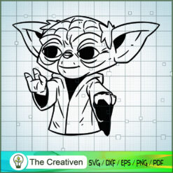 It's Old Yoda SVG, Star Wars SVG, The Mandalorian SVG