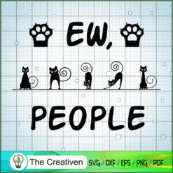 EW, People SVG , Cat SVG files For Cricut, Cat SVG, Cat Silhouette