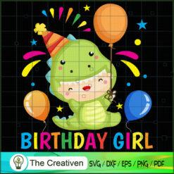 Birthday Girl Dinosaur SVG, Dinosaur T-rex SVG, Jurassic Park SVG, Jurassic World SVG