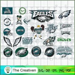 Philadelphia Eagles Bundle SVG, Football Svg Bundle SVG , NFL Team SVG , Philadelphia Eagles Sport SVG