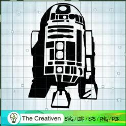 R2D2 Star War SVG, Star Wars SVG, Robot Star Wars SVG