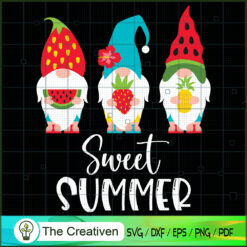 Sweet Summer Gnomes SVG, Sweet Summer SVG, Gnomes SVG