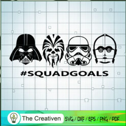 SquadGoals Star War SVG, Star Wars SVG, Darth Vader SVG