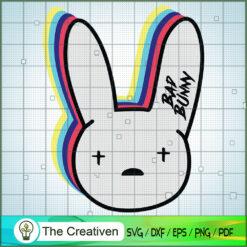 Bunny Logo SVG, Bad Bunny SVG, Singer SVG