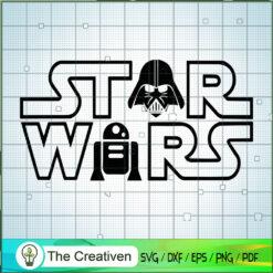 Star War Logo SVG, Star Wars SVG, The Mandalorian SVG