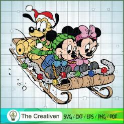 Millie Pluto Mickey Mouse SVG , Disney Christmas SVG , Disney Mickey SVG, Funny Mickey SVG