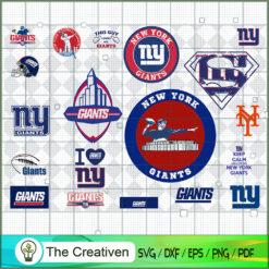 New York Giants Bundle SVG, Football Svg Bundle SVG , NFL Team SVG , New York Giants Sport SVG