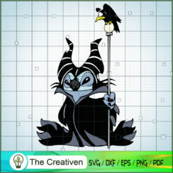 Stitch Maleficent SVG, Funny Stitch SVG, Disney Lilo and Stitch SVG