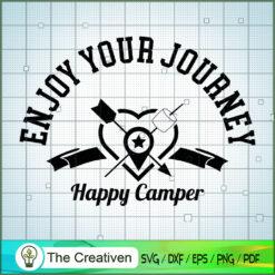 Happy Camper SVG, Camping SVG, Adventure SVG, Love Camper SVG, Travel SVG