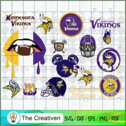 Minnesota Vikings Bundle SVG, Football Svg Bundle SVG , NFL Team SVG , Minnesota Vikings Sport SVG