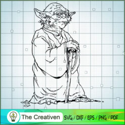 Yoda When 900 Years Old SVG, Star Wars SVG, The Mandalorian SVG, Grogu SVG
