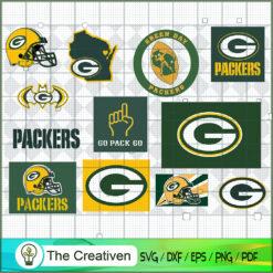 Green Bay Packers Bundle SVG, Football Svg Bundle SVG , NFL Team SVG , Green Bay Packers Sport SVG