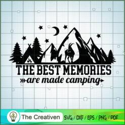The Best Memories Are Made Camping SVG, Camping SVG, Adventure SVG, Love Camper SVG, Travel SVG