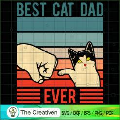 Best Cat Dad Ever SVG , Cat SVG files For Cricut, Cat SVG, Cat Silhouette