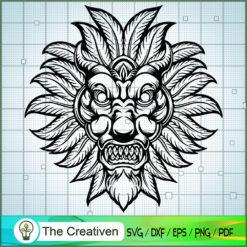 Marijuana Monster Mask Graphic SVG , Marijuana Leaf SVG, Cannabis SVG, Pot Leaf SVG, Weed SVG