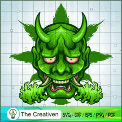Green Cannabis Hanya Marijuana SVG , Marijuana Leaf SVG, Cannabis SVG, Pot Leaf SVG, Weed SVG