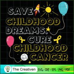 Childhood Cancer Warrior Gold Ribbon SVG, Cancer Awareness SVG , Ribbon SVG , Lung Cancer Awareness SVG