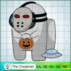 Among Us Horror Halloween SVG, Among Us SVG, Game Play SVG, Funny Among Us SVG
