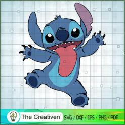 Stitch SVG, Funny Stitch SVG, Disney Lilo and Stitch SVG