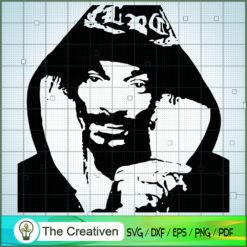 Snoop Dogg SVG, US Rapper SVG, Famous Star SVG