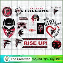 Atlanta Falcons Bundle SVG, Football Svg Bundle SVG , NFL Team SVG , Sport SVG