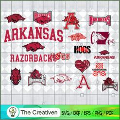 Arkansas Razorbacks SVG, Division I Football Bowl Subdivision SVG, NCAA SVG