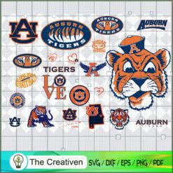Auburn Tigers SVG, Division I Football Bowl Subdivision SVG, NCAA SVG