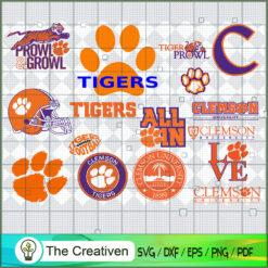 Clemson Tigers SVG, Division I Football Bowl Subdivision SVG, NCAA SVG