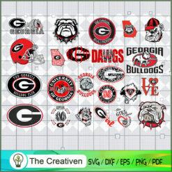 Georgia Bulldogs SVG, Division I Football Bowl Subdivision SVG, NCAA SVG