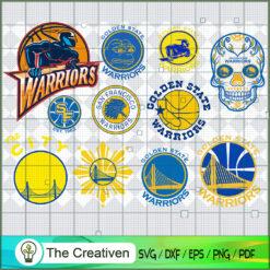 Golden State Warriors Team SVG, Basketball SVG,  National Basketball Association SVG