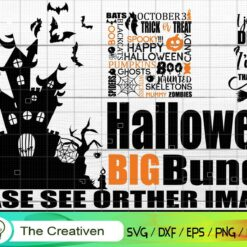 Halloween Bundle SVG , Halloween SVG