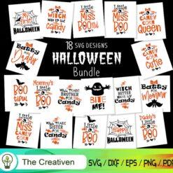Halloween Bundle SVG , Bundle SVG