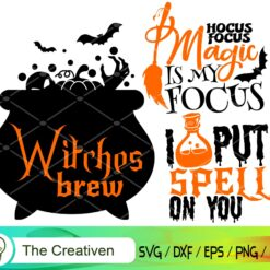 Happy Halloween SVG, Happy Halloween Digital File, Halloween Quotes SVG