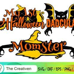 Halloween Momster SVG, Halloween Momster Digital File, Halloween Mom SVG