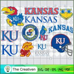 Kansas Jayhawks SVG, Division I Football Bowl Subdivision SVG, NCAA SVG