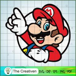 Super Mario SVG , Game Mario SVG, Funny Mario SVG