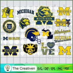 Michigan Wolverines SVG, Division I Football Bowl Subdivision SVG, NCAA SVG